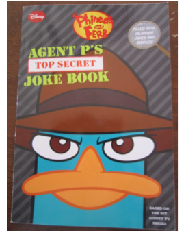 Agent P's Top Secret Joke Book