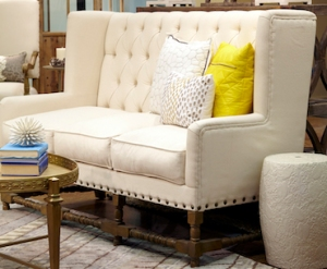 ivory garden stool