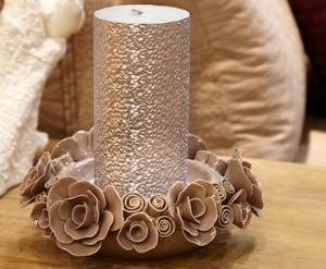 rosecandleholder