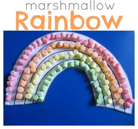 marshmallow-rainbow-craft-for-kids-