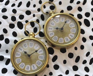 Product Feature: Gold Clock