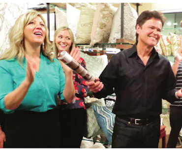 Donny Osmond Home Featured in Home Accents Today