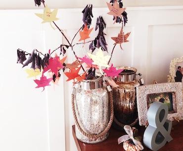 Mercury Glass Jars in Melisa Osmond's Home.