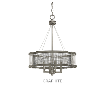 Carson 4 Light Chandelier