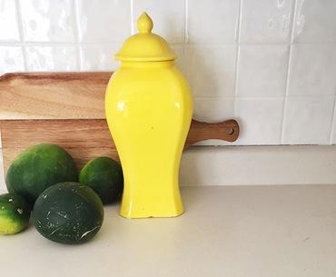 Lidded Ginger Jar in Shelby Osmond's Home